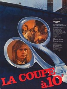 La coupe à 10 francs (Philippe Condroyer - 1974), affiche originale.